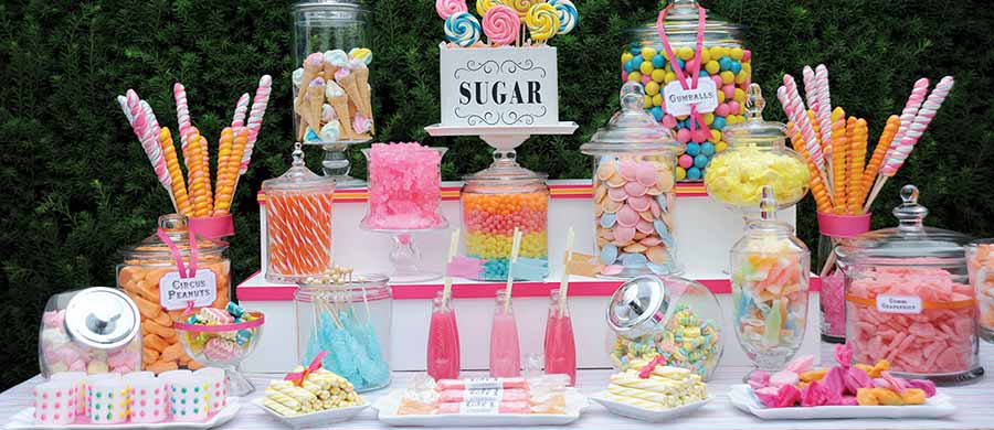 candies table