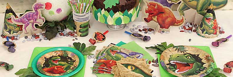 3343 dinosaur party supplies footer